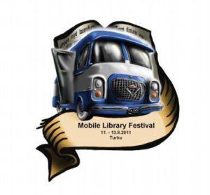 Logo del Festival de Bibliobuses de Finlandia