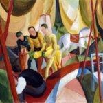 El circo, August Macke (1913). Museo Thyssen Bornemisza