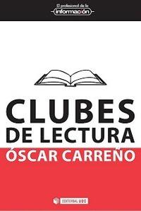 """Cubierta de """"Clubes de lectura"""" de Óscar Carreño"""