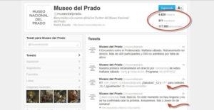 Twitter Museo del Prado