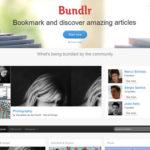 Bundlr, herramienta para curación de contenidos web