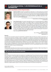 El aprendizaje social y los profesionales de la información