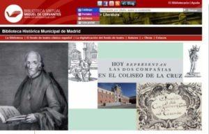 Biblioteca Historica Municipal de madrid