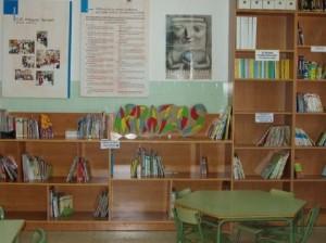 Espacio de la biblioteca escolar del CEIP Miguel Servet de Fraga