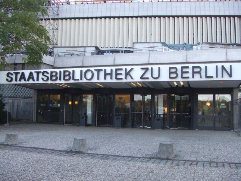 Biblioteca Estado Berlin