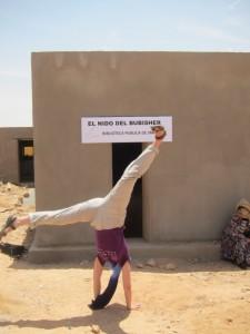 El Nido- Biblioteca Pública de Smara, en los campamentos de refugiados saharauis de Argelia