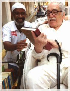 Murillo con García Márquez