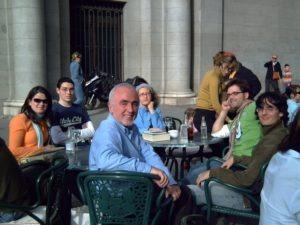 Viaje de estudios de los alumnos del Módulo a Valladolid.