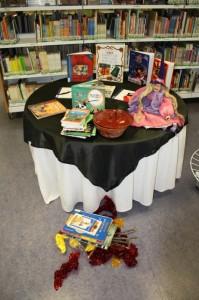 Libros sobre magia en las visitas escolares de la BPE de Zamora