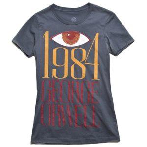 Camiseta de '1984' de G. Orwell