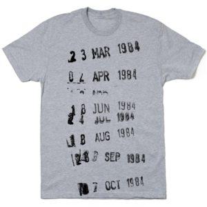Camiseta inspirada en las 'fichas canguro'