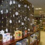 Decoración de la Biblioteca en Navidad