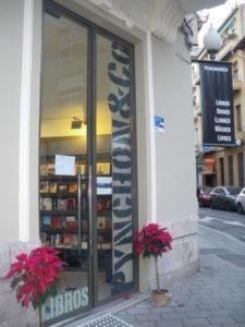 Entrada librería Pynchon