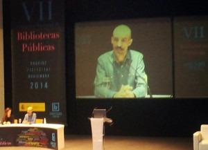 Conferencia inaugural a cargo de Jesús Carrasco