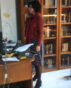 Directora de la Biblioteca de la Escuela de Traductores de Toledo