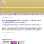 Bibliored 3.0: multimedia sobre ciencias de la información-comunicación en bibliotecas-servicios universitarios