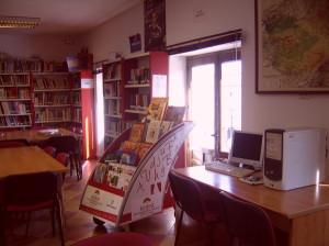 Luz natural, sala de lectura infantil