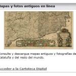 Mapas y fotos antiguos en línea