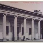 Imagen decimonónica del Palacio Lorenzana, que actualmente alberga al Centro de Documentación Europea, y a otros centros y servicios de la UCLM