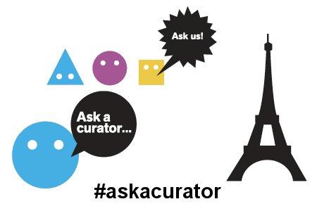 Todo preparado para el Ask a curator day 2015