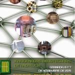 Cartel XVIII Jornadas Bibliotecarias de Andalucía
