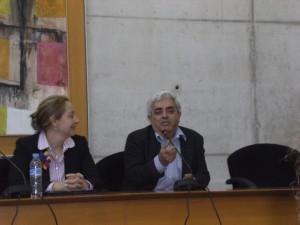 Juan Ros García junto a Celia Chaín Navarro