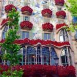 Casa Batlló, día de Sant Jordi
