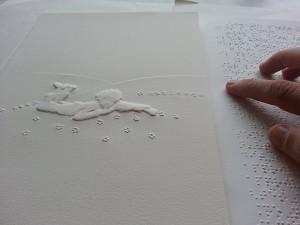 iversidad funcional_Antoine_de_Saint-Exupery_braille