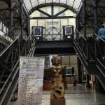 Vestíbulo de la Biblioteca Nacional de Guinea Ecuatorial