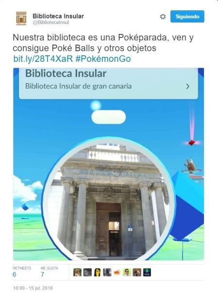 ¿Qué puede hacer Pokémon GO por mi biblioteca?