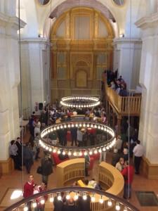 Biblioteca Niveiro Alfar El Carmen en Talavera de la Reina (Toledo)