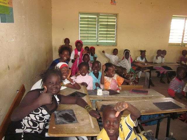 Escuela Artillerie Senegal