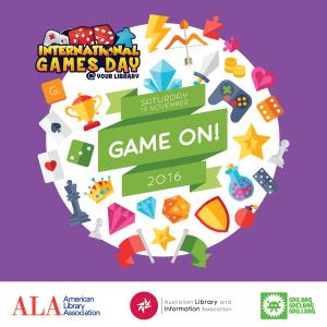 Día Internacional del juego en bibliotecas