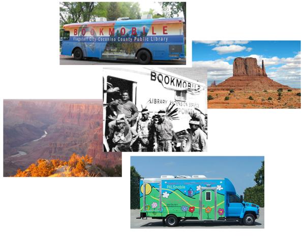 Bibliobuses para la Nación Navajo
