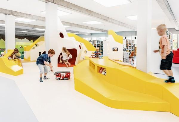 Espacios lúdicos en bibliotecas