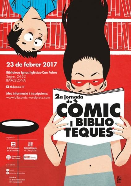Crónica de la Jornada 'Cómic y Bibliotecas' (23 de febrero 2017)