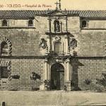 Antigua postal del Hospital Tavera