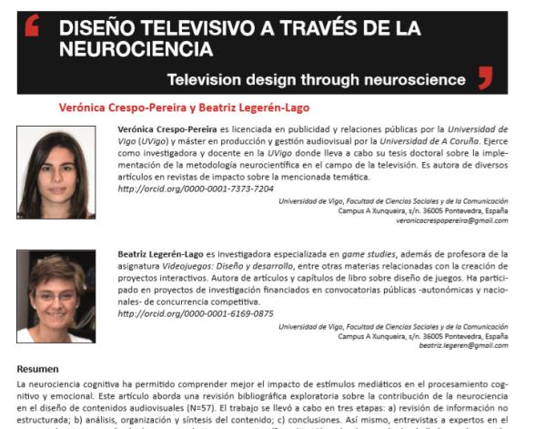 [#EPItecarios] Diseño televisivo a través de la neurociencia