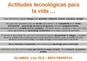 Actitudes tecnológicas que deben tener los docentes universitarios