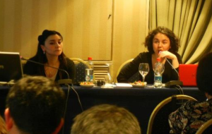 Francisca Labrín y Aylín Fuentes