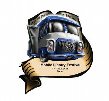 Logo del Mobile Libraries Festival, of Filand, 2011