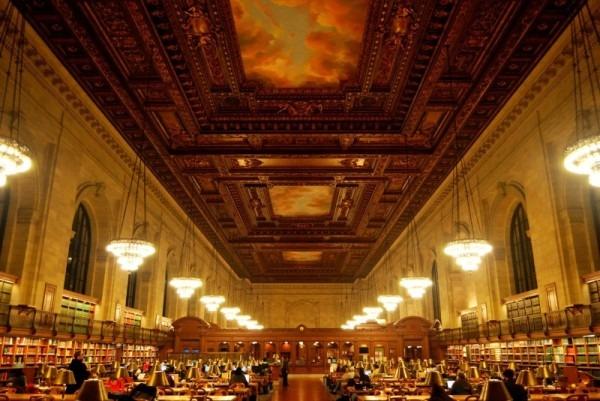 Sala de lectura Rose NYPL