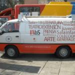 Bibliobús de la Biblioteca de Santiago (Chile)