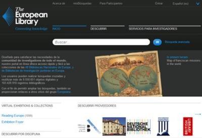 biblioteca europea