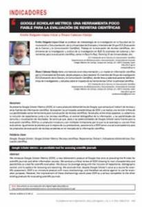 Google Scholar Metrics: an unreliable tool for assessing scientific journals