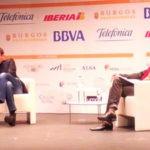 Risto Mejide y Agustín Fernández Mallo durante su intervención en iRedes