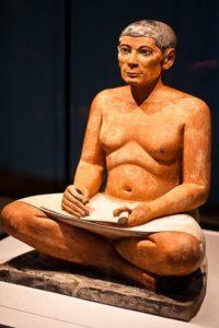 Escriba sentado del Louvre