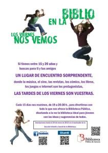 Programa jóvenes en la Biblioteca Pública de Zamora.