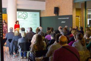 Inuguración exposición Círculo Lectores en CDS