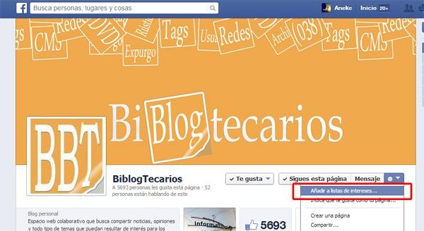 facebook-listas